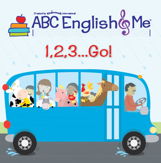 English & Me Home Album 1, 2, 3, Go...
