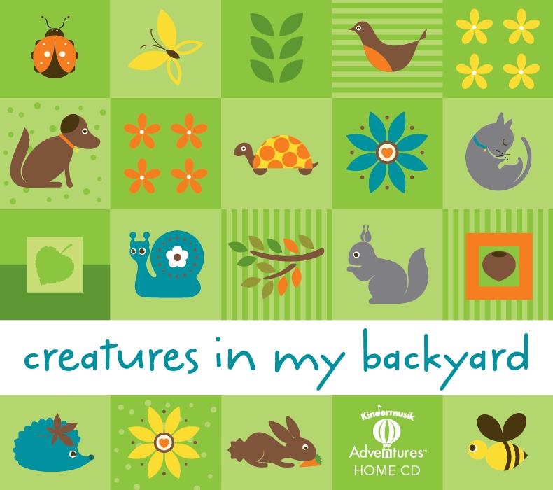 Adventures Creatures in My Backyard Home Album 1