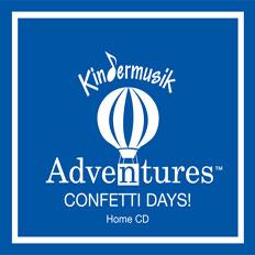 Adventures Confetti Days Home Album