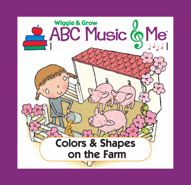 Wiggle & Grow Home Album Colors & Shapes on the Farm
