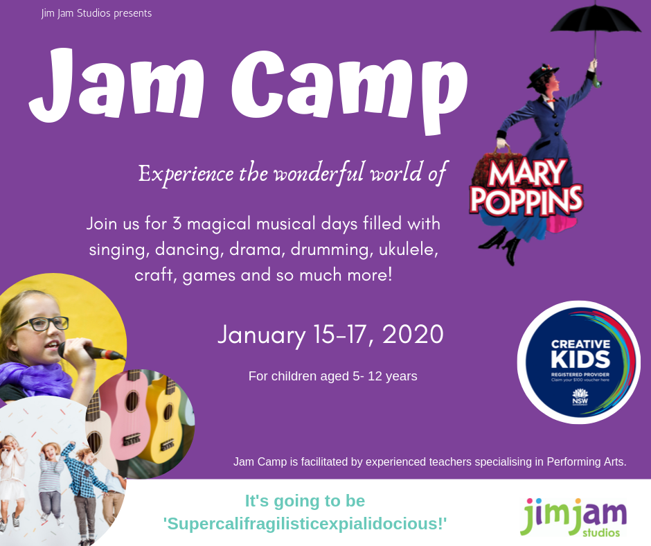 JAM CAMP - The Wonderful World of Mary Poppins