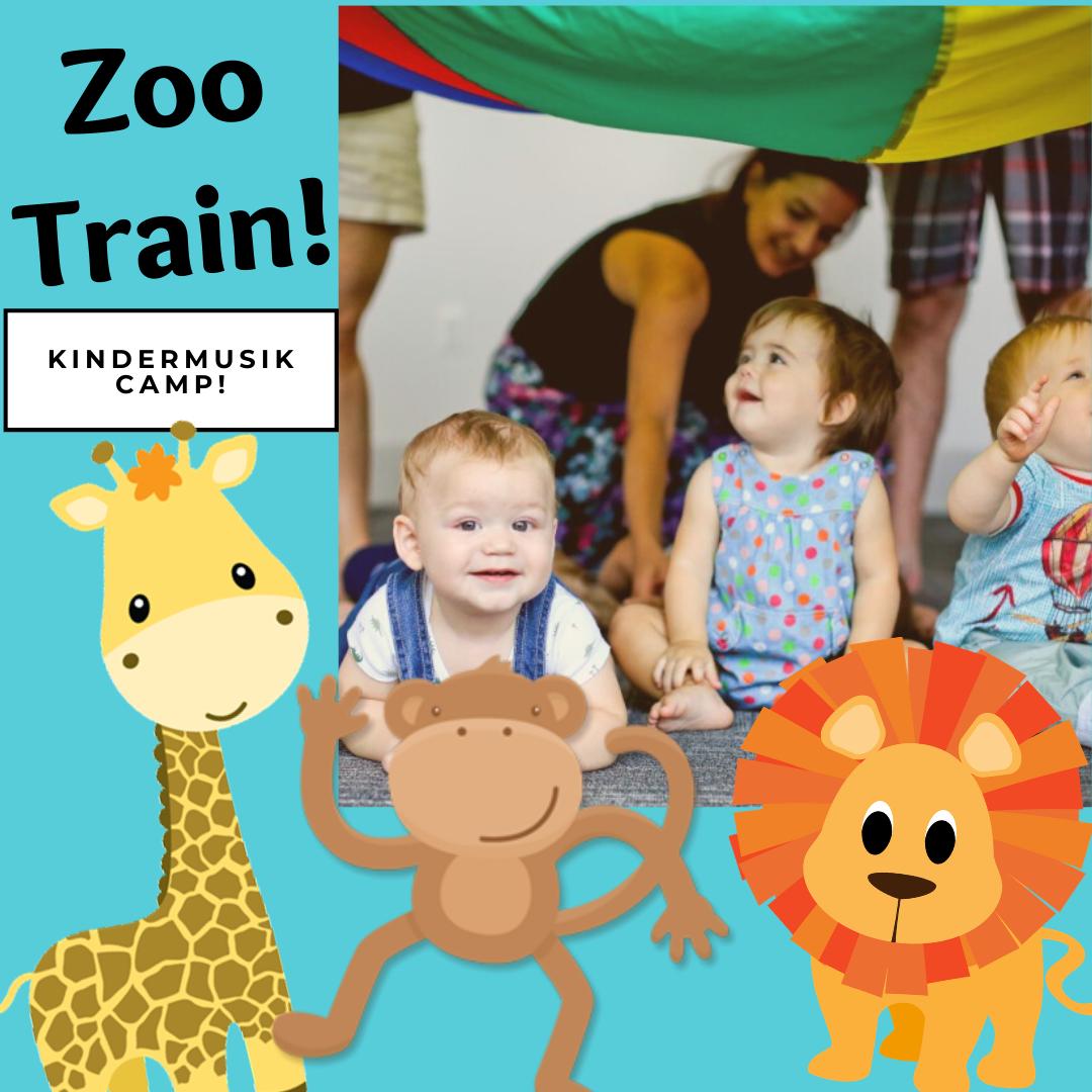 Zoo Train! Camp