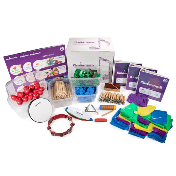 Level 3 9-month Starter Classroom Kit (ages 3-5; up to 20 students)